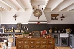 Deco Cuisine Bistrot : cuisine ambiance bistrot ~ Louise-bijoux.com Idées de Décoration