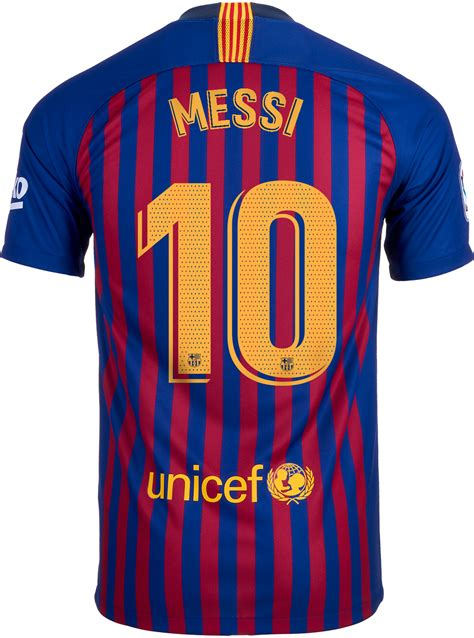 Nike Lionel Messi Barcelona Home Jersey Youth 2018 19