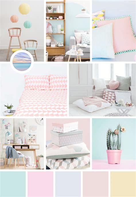 chambre palette une dose d 39 inspiration aux couleurs pastel avec moodboard