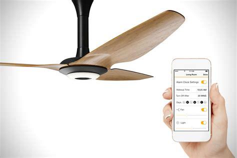 smart ceiling fan control big fans haiku senseme smart ceiling fan hiconsumption