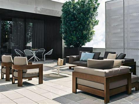 canapé jardin bois canape en bois moderne mzaol com