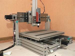 Diy Homemade Cnc Machine  Router  Mill   Set Of Plans