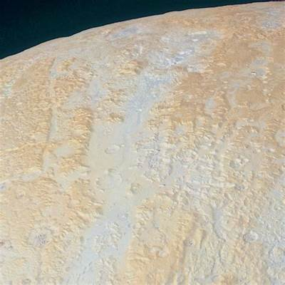 New image of Pluto's north pole is stunning - Business Insider