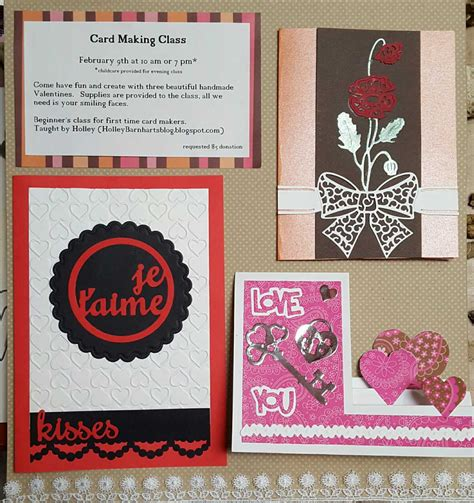 holleys blog card making class  austin tx