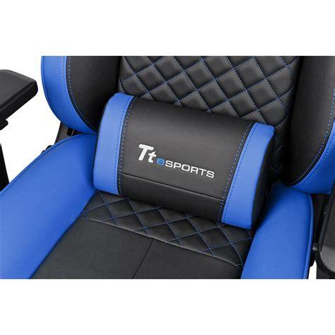 siege baquet ps3 ttesports gt comfort 500 noir et bleu achat pas cher