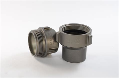 Merlite 2 X 2 ½ Alum. Coupling 2 1/2 X 2 5/16 Nh R/l (set