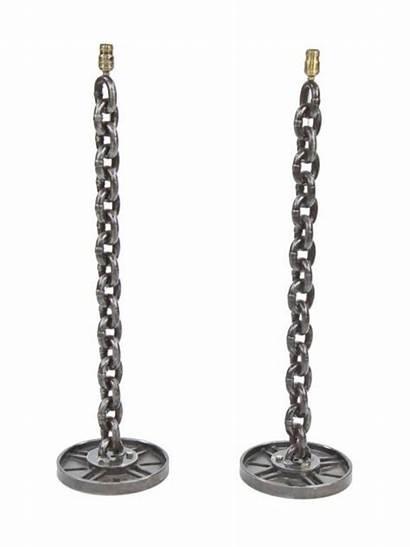 Chain Welded Steel Repurposed Link Industrial Lamp