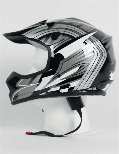dot motocross helmets dot atv dirt bike mx kids youth black gray white