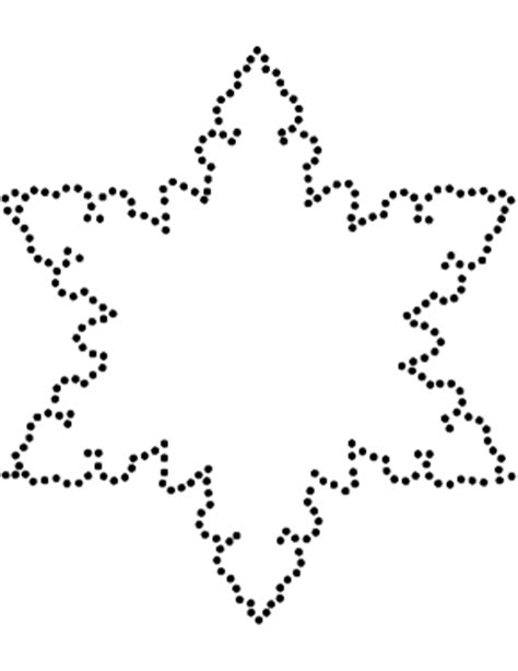 snowflake cutout template snowflake template clever hippo
