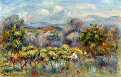 Orange Trees Pierre Auguste Renoir
