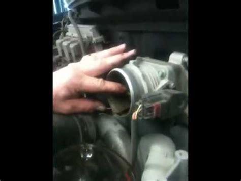 throttle body cleaning dirty throttle body symptoms