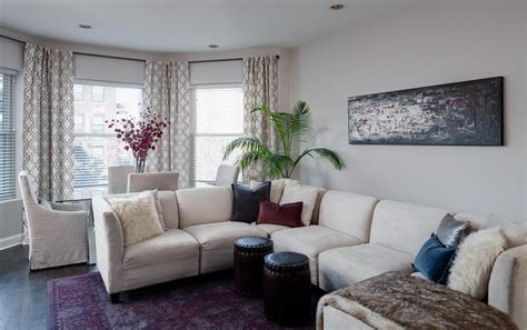 adorn  interior  white patterned curtains homesfeed