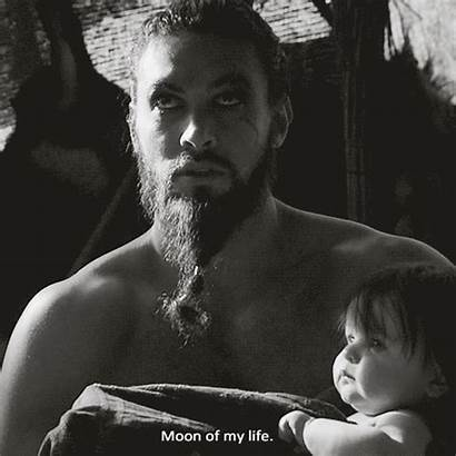 Drogo Khal Thrones Daenerys Moon Momoa Jason