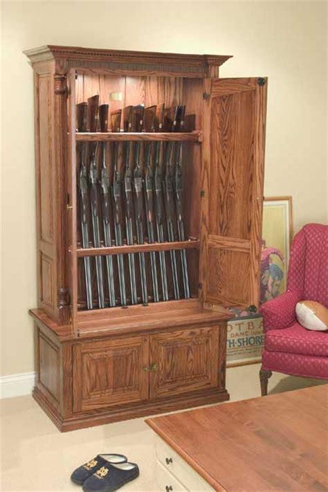 lote wood coffee table hidden gun cabinet plans