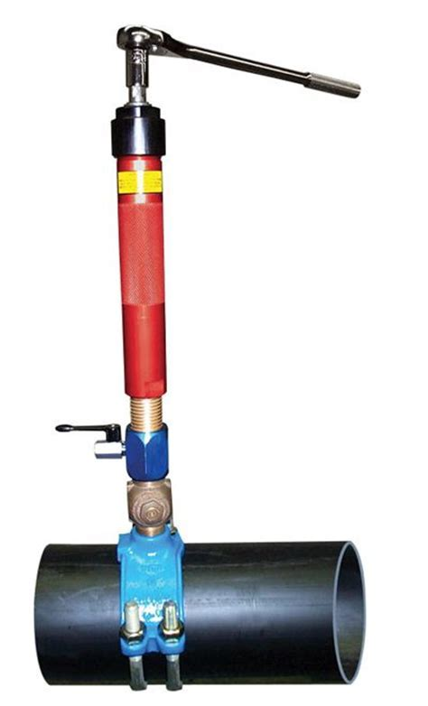 View the Wheeler Rex manual hot tapping machine. This hot
