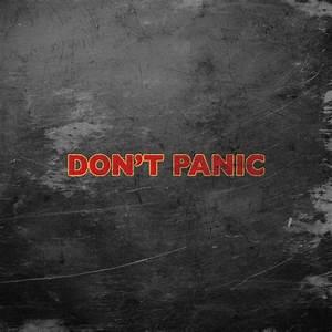 DON'T PANIC iPad Wallpaper