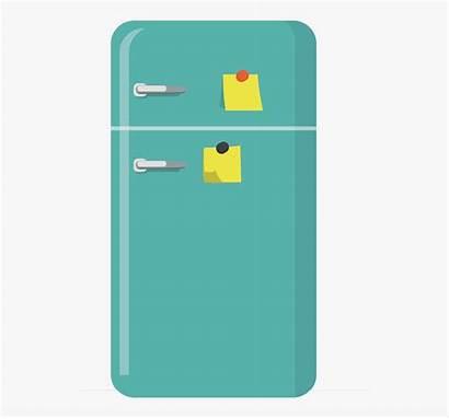 Fridge Refrigerator Cartoon Clipart Note Transparent Clipartkey