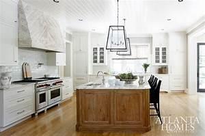 Whitewashed Kitchen Hood - Cottage - kitchen - Atlanta