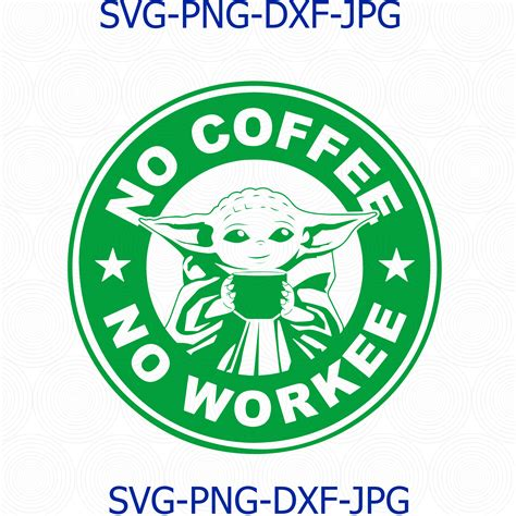 Download free static and animated baby yoda vector icons in png, svg, gif formats. Baby Yoda Coffee Starbucks svg, Baby Yoda No by Digital4U ...