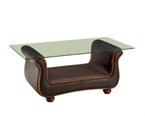 It seamlessly fits into any room upgrade your décor with this stylish and trendy coffee table. European Design Coffee Table in Brown Finish 33SS65