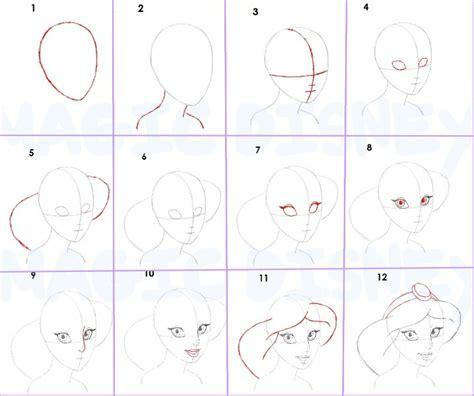 comment dessiner des princesses disney