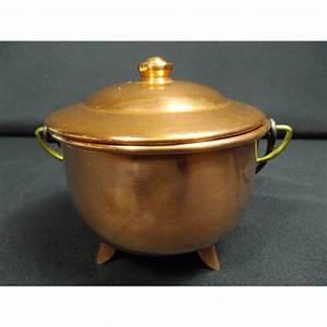 Pot A Couvert : pot couvert en cuivre brocante lestrouvaillesdecaroline ~ Teatrodelosmanantiales.com Idées de Décoration