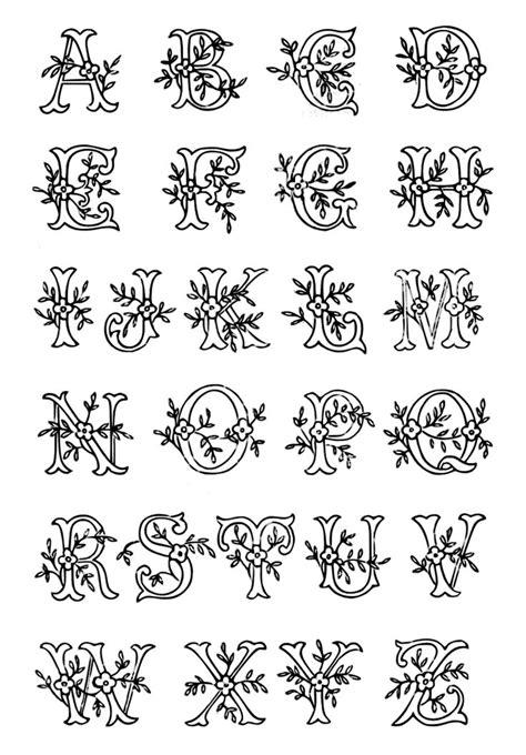 vintage monogram initial lettering embroidery patterns vintage nakislar oya oernekleri monogram