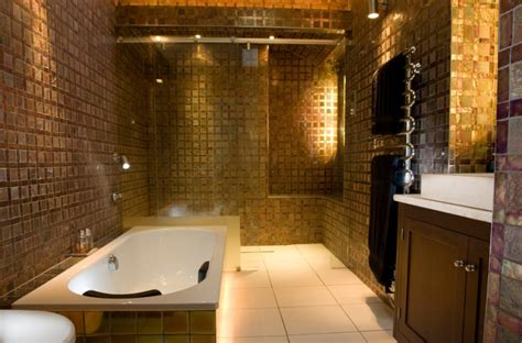 ten elegant gold bathroom ideas   amazed  decohoms