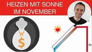 Lohnt Sich Solarthermie : solarthermie lohnt sich nicht doch auch im november mit ~ Watch28wear.com Haus und Dekorationen