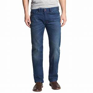 diesel safado 0815a jeans regular slim straight jeans With pantalon a carreaux homme