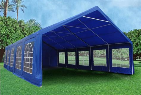 heavy duty party tent gazebo canopy blue green