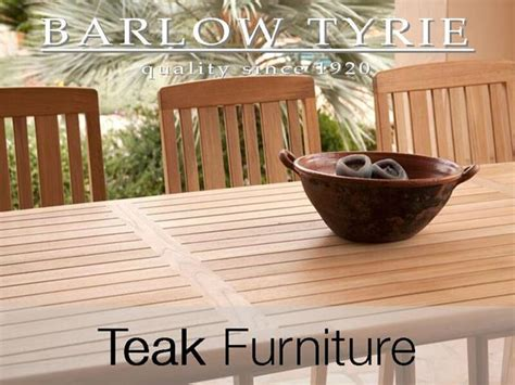 barlow tyrie teak garden furniture  uk delivery