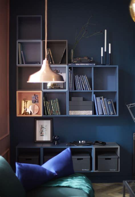 Ikea Wandregale Wohnzimmer by Eket Kastencombinatie Voor Wandmontage Veelkleurig In