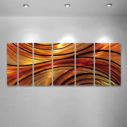 Wall art designs orange large modern