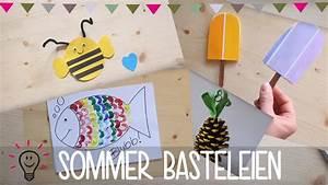Basteln Für Den Sommer : bastelideen f r den sommer diy anleitung basteln mit kind youtube ~ Buech-reservation.com Haus und Dekorationen