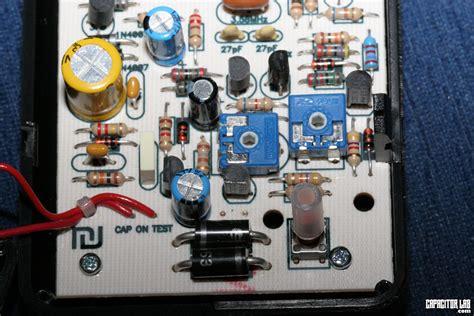 esr meter analog capacitor lab