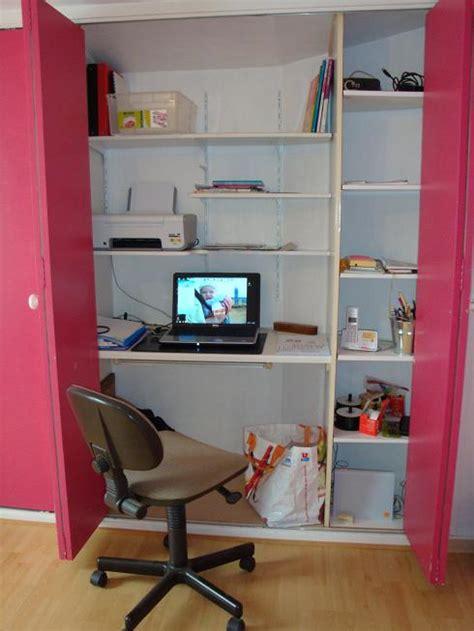 bureau dans un placard placard bureau forum d 233 coration mobilier syst 232 me d