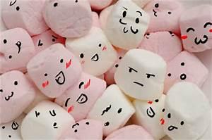 Colourful marshmallow