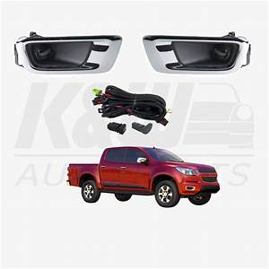 Fog Light Kit For Holden Colorado Rg Ute 2013