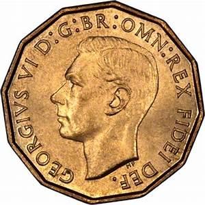 1952 George VI Brass Threepence
