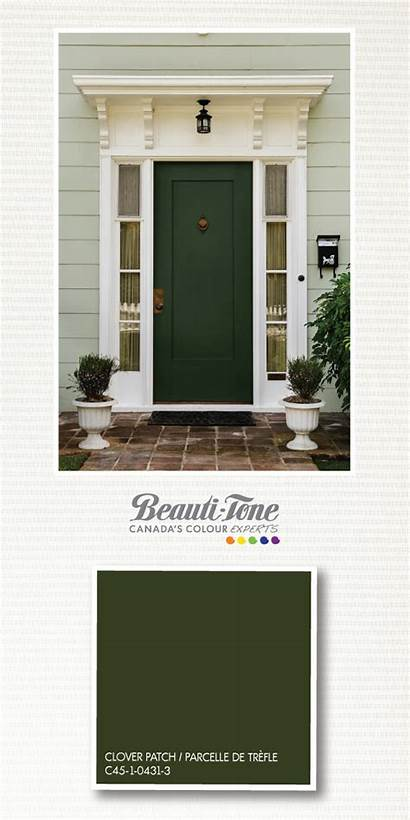 Door Dark Exterior Colors Doors Painted Paint