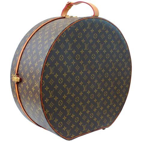louis vuitton boite chapeaux hat box cm xl  monogram travel bag   stdibs