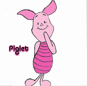 How to Draw Piglet from Winnie the Pooh (with Pictures ...
