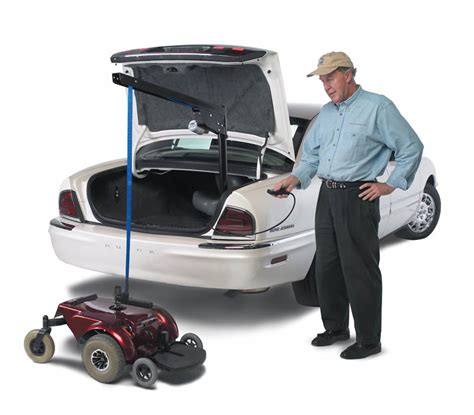 wheelchair and scooter lifts for your car trunk