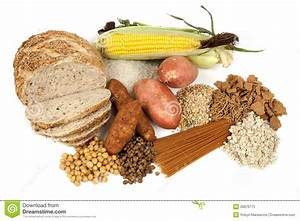 Complex Carbohydrates Food Sources Stock Image