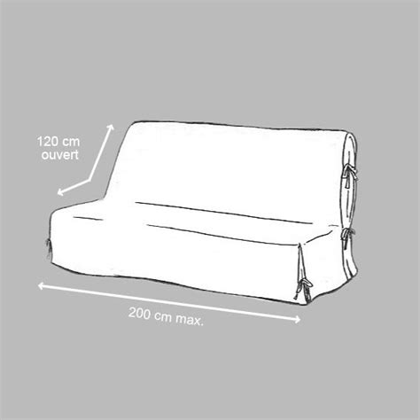 protege canapé 3 places housse de clic clac sparks noir et blanc housse de clic
