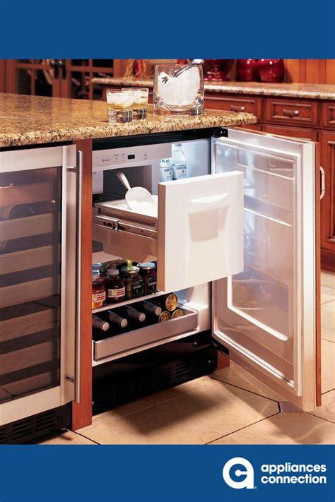 ge monogram compact refrigerator   eloquent statement  style convenience