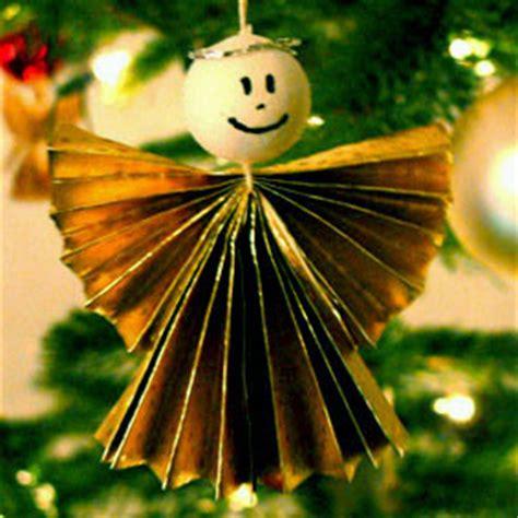 ziehharmonika engel als weihnachtsbaumdeko basteln