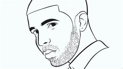 Coloring Pages Rapper Printable Getcolorings Drake