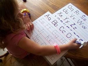 busy bag idea alphabet tracing sheets bags hand With dry erase letter tracing